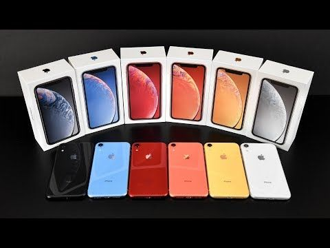 Apple Iphone Xr Unboxing Review All Colors Youtube Iphone Price Iphones For Sale Iphone