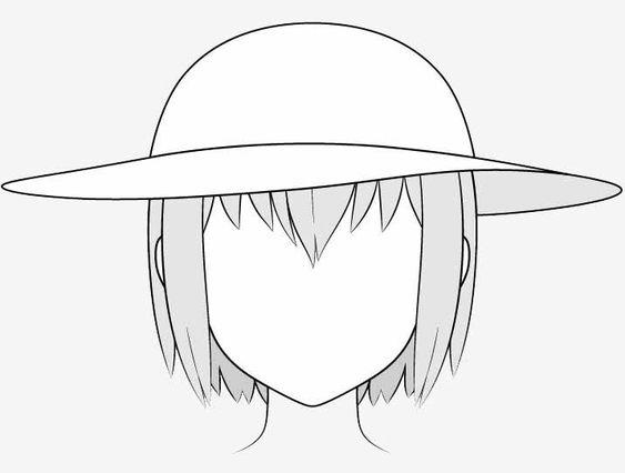 Vẽ nón chống nắng