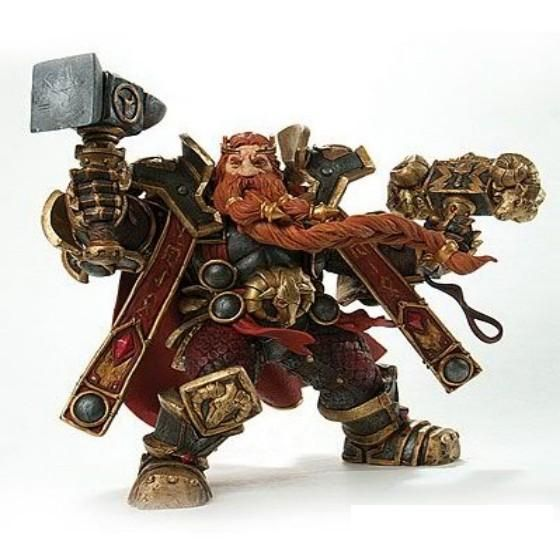 WOW Model Movie Game Toy  Shaman Night Elf Druid Dwarf King Magani Bronzebeard Action Figure Classic Toys For Boys With Box