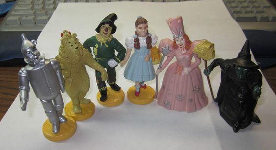 Wizard Of Oz Cake Toppers Figures Uk