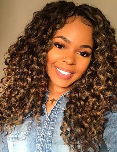 30 Best Hair Color Ideas For Black Women Cool Hair Color Black Women Hair Color Girl Hair Colors