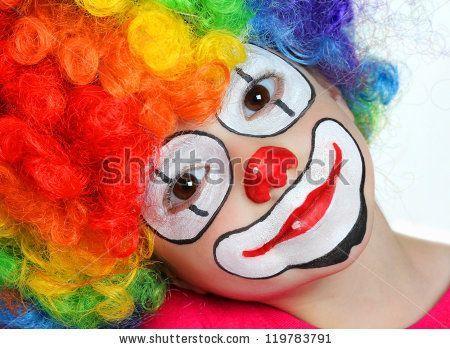 Maquillage Clown Enfant, Maquillage Pour Enfant Facile, Deguisement Clown Enfant, Halloween Maquillage, Enfant éCole, Maquillage Deguisement, 10 Maquillages