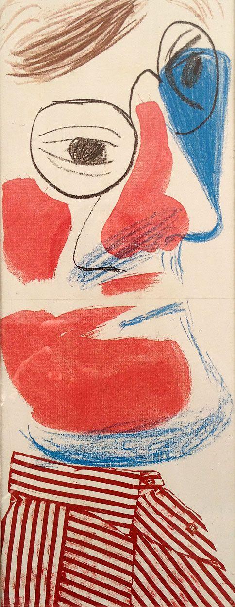 David Hockney – Self Portrait, 1986