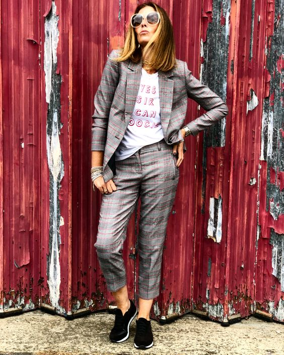 6a0343763751c The jacket and tee would be ideal worn with a skirt or any other plain  trousers. Or how about just good old jeans?