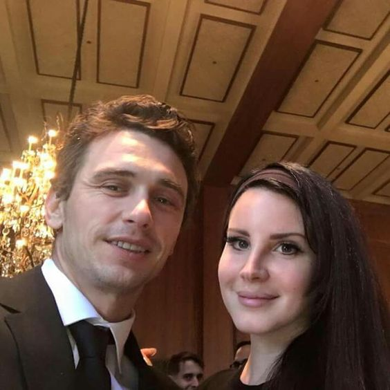 Lana Del Rey with James Franco