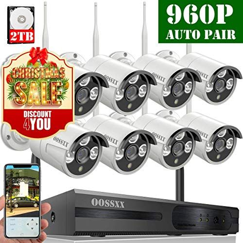 5 Best Outdoor Wireless Security Camera System With Dvr Wireless Security Camera System Home Security Systems Security Camera System