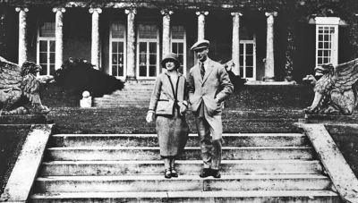 Duke and Duchess of York on their honeymoon in 1920s
