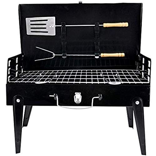 Portable Folding Charcoal BBQ Barbecue Camping Grill Travel Picnic Outdoor Tools