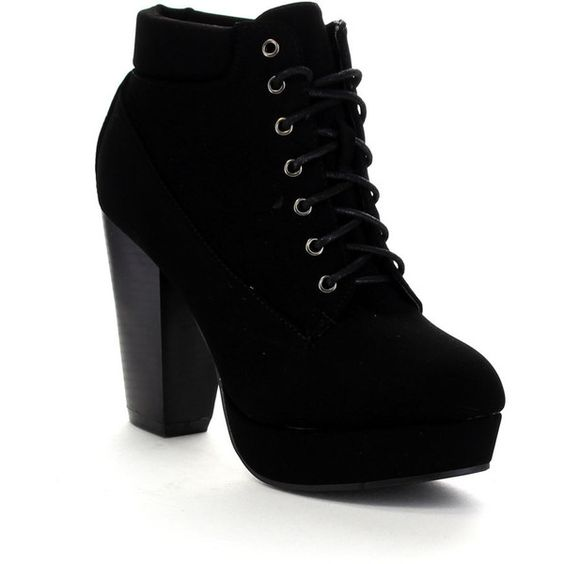 Chunky Heels Shoes Boots Ankle And Ankle Booties On Pinterest
