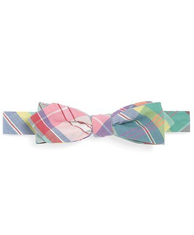 Love this madras bow