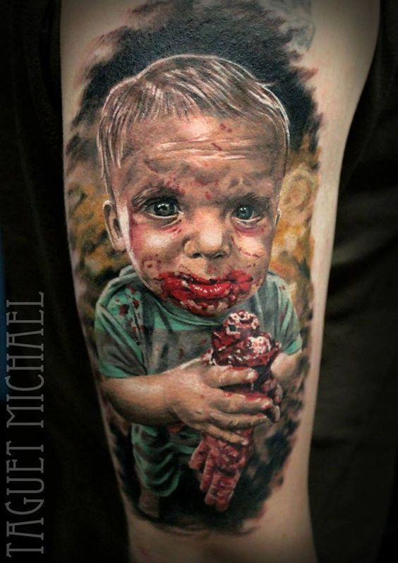 Tattoo done by Michael Taguet Follow him on instagram : @taguetmichael Done with Hustle Butter Deluxe and Killer Ink Tattoo supplies