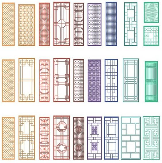 Traditional korean design the image kid for Professional window treatment patterns