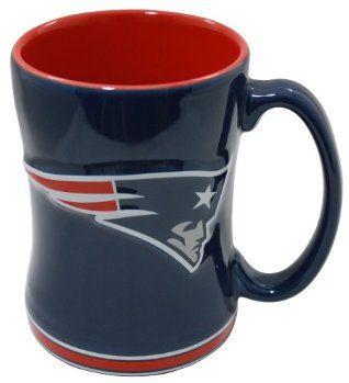 Patriots Logo Relief Coffee Mug