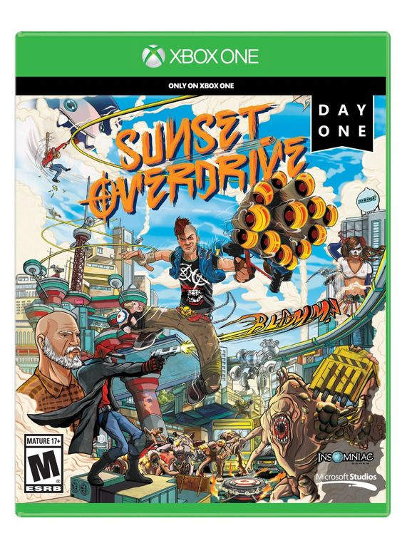 Sunset Overdrive is coming to FPLD!  Check it out.