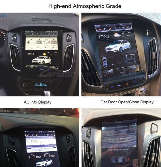10 4 Vertical Screen Android Navi Radio For Ford Focus 2011 2019