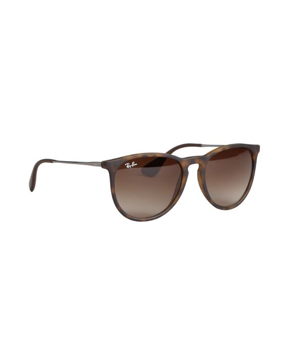 ray ban erika sunglasses cheap  ray ban brown rubberized 'erika' sunglases