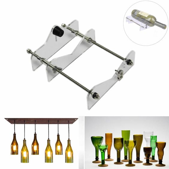 details about glass bottle cutter diy & edison bulb industrial ... - Lampadine Edison Ebay
