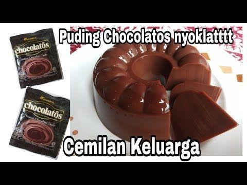 Cemilan Keluarga Puding Chocolatos Sederhana Dan Nyoklat Bangettt Youtube Dessert Recipes Food Desserts