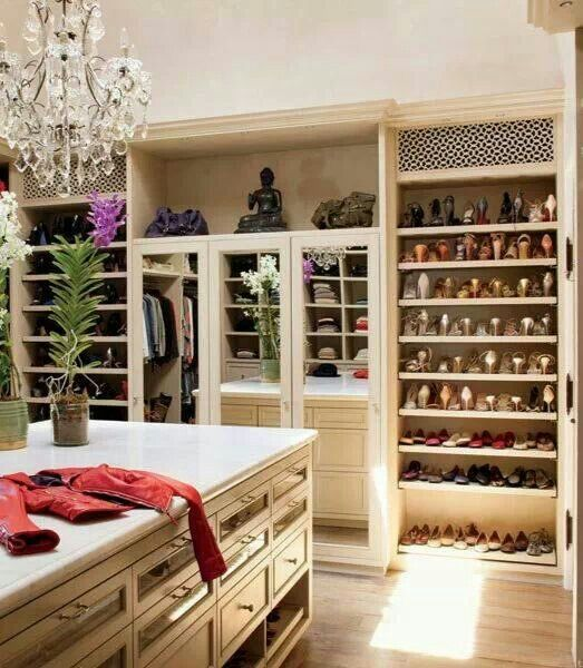 Charmant Master Walk In Closet | New House Ideas | Pinterest | Dream Closets,  Dressing Room And House