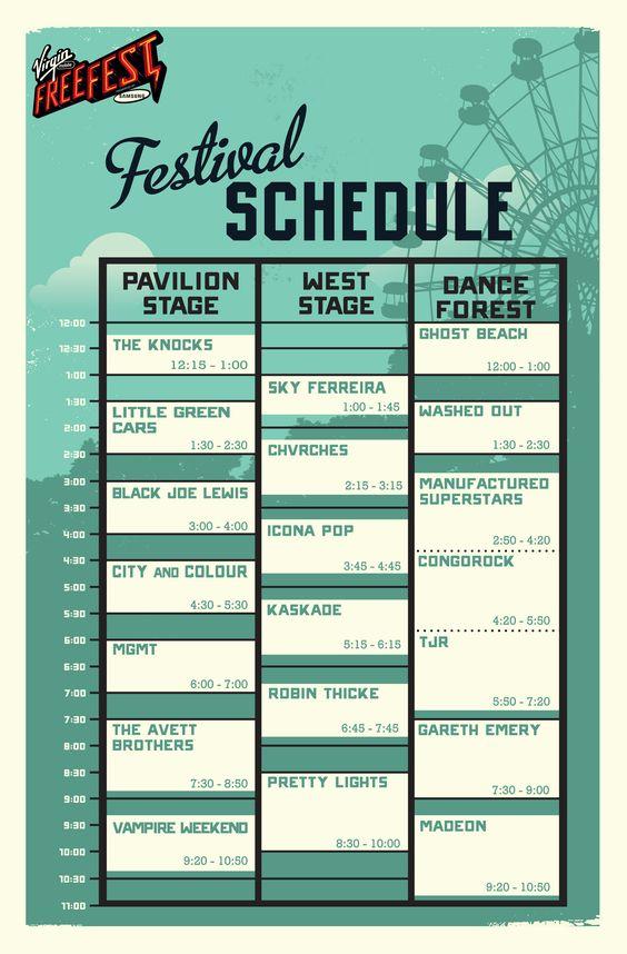 Pin by Brian E Young on Fun Pinterest Schedule design - agenda design templates