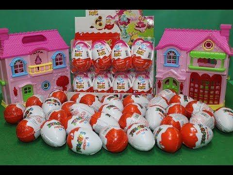 Kinderspielzeug كندر جوي و كندر سبرايز 6 بيضات مفاجآت العاب أطفال بنات و اولاد ال Holiday Decor Decor Holiday
