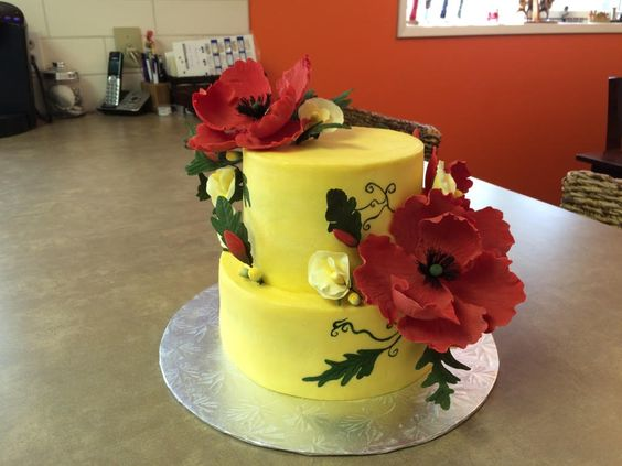 Buttercream cake for Janice's BDay