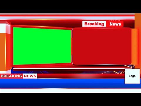 Breaking News Bumper Adobe Premiere Template Free Download Plus High Quality Png Transpare Greenscreen Green Screen Video Backgrounds Green Screen Backgrounds