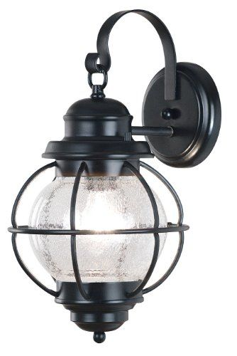 Kenroy Home Craftsman / Mission 1 Light Outdoor Wall Sconce from the Hatteras Collection,