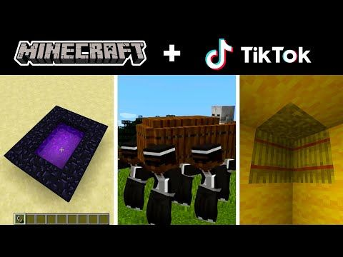 Minecraft Tik Tok Compilation 9 Youtube Minecraft Crafts Tik Tok Minecraft