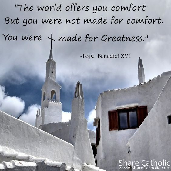 Quot The World Offers You Comfort But You Were Not Made For