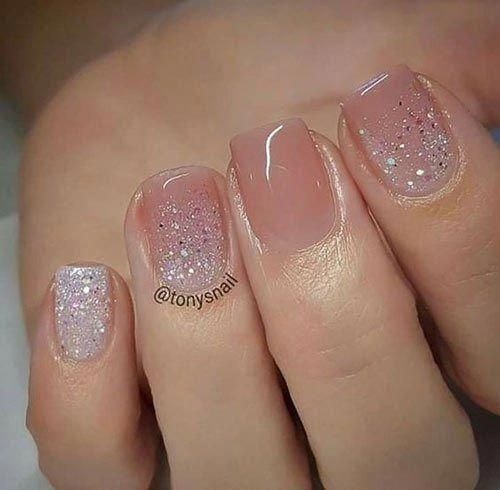 Short Acrylic Nail Designs Acrylicnails Nerdnaildesigns Weddingnails Short Acrylic Nails Designs Short Acrylic Nails Short Nail Designs