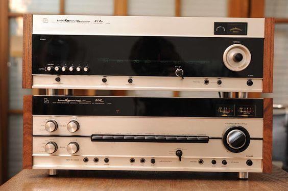 Golden Age Of Audio: Luxman 212 Tuner,Luxman 202 integrated Amplifier
