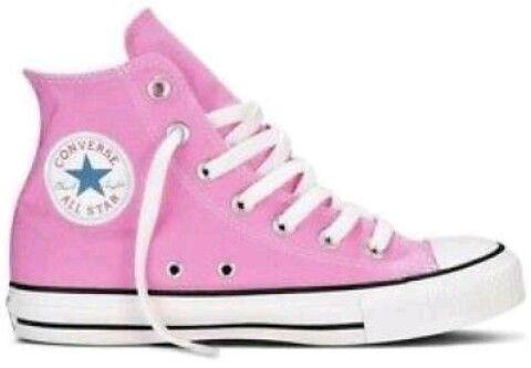 zapatillas rosas converse
