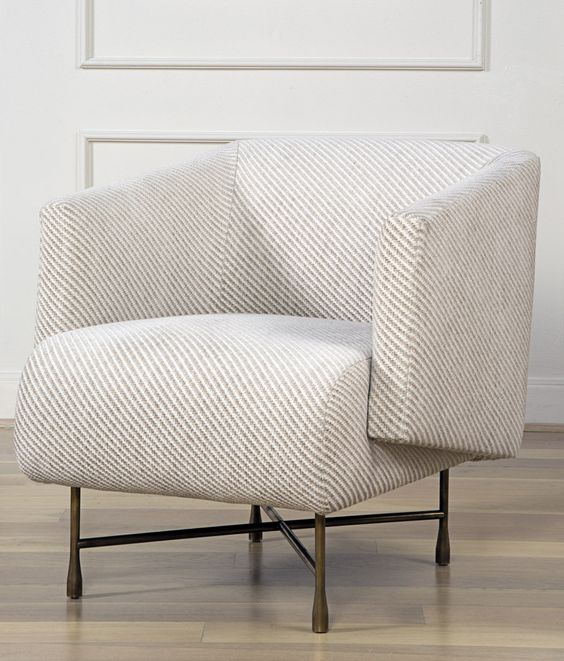 Kelly Wearstler Furniture: BIJOUX LOUNGE CHAIR. A Modern And