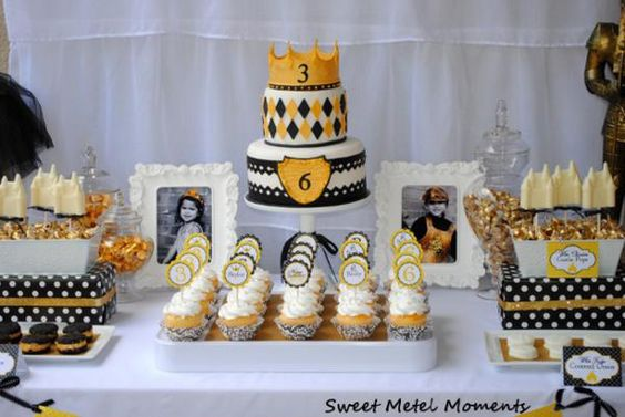 knight and princess themed party
