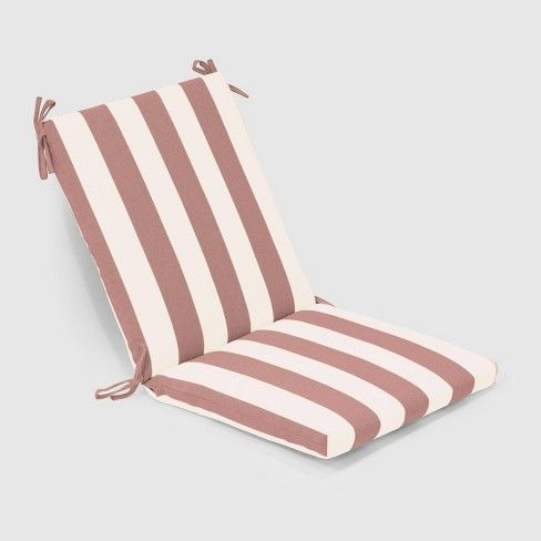 Cabana Stripe Outdoor Chair Cushion Threshold Target Outdoor Chair Cushions Outdoor Chairs Chair Cushions
