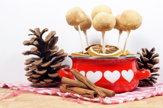 Zimtstern Cookie Pops / Zimtstern-Lollies am Stiel - Fee ist mein Name