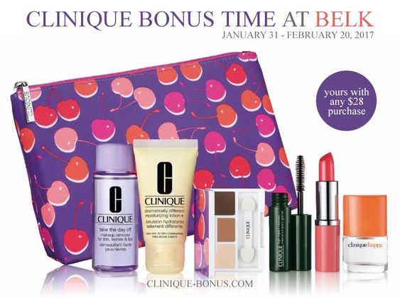 Belk And Bonton Offer This Clinique Gwp Yours With Any 28