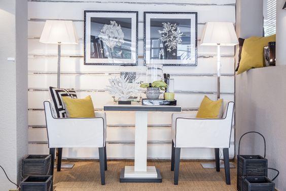 Lohmeier Home Interiors Shop Yellow White Wood Panels