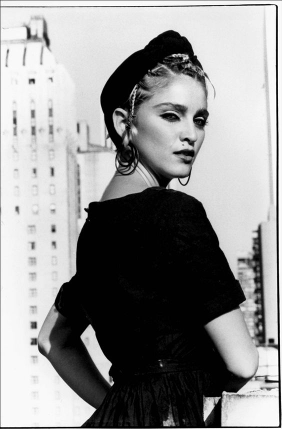 I so wanted to be Madonna when I was at art college in the mid-80s!  Madonna, 1983 Photography: Kate Simon