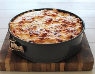 Rigatoni pasta kuchen
