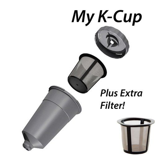 Keurig My K-Cup with Extra Filter. Use Your Own Coffee. Make Two Cups without Washing a Filter. Instructions Included. Quit Using Expensive K-Cups and Use Your Own Coffee.