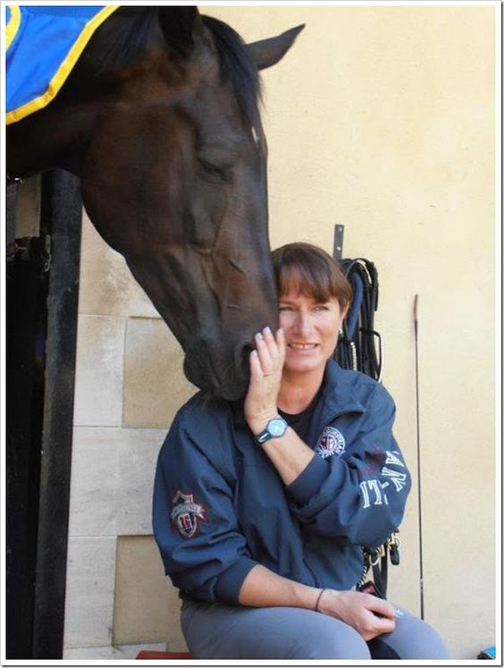 The amazone Claudia Fassaert and her horse Donnerfee are the Belgian representatives for the Olympic Games dressage