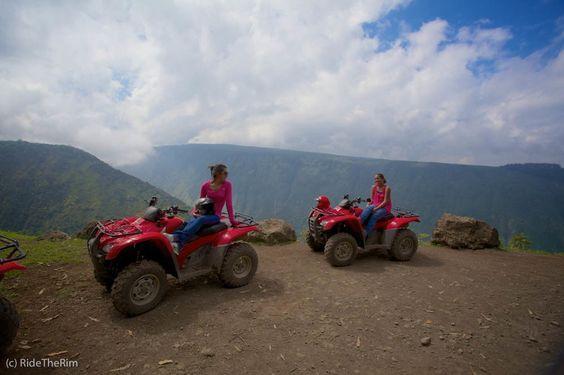 RideTheRim - Waipi'o Valley ATV Tour! More details at: http://www.ridetherim.com/tour-info/   #hawaii #adventure