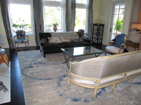 carolyn quartermaine fabric on vintage canape french influenced design pinterest vintage. Black Bedroom Furniture Sets. Home Design Ideas