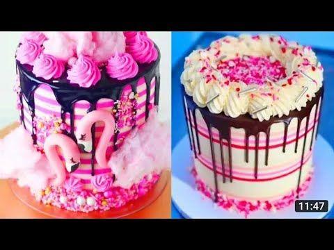 تزيين تورتة الربيع تورتات بشكل لون الربيع Youtube Cake Decorating Tutorials Birthday Cake Decorating Colorful Cakes