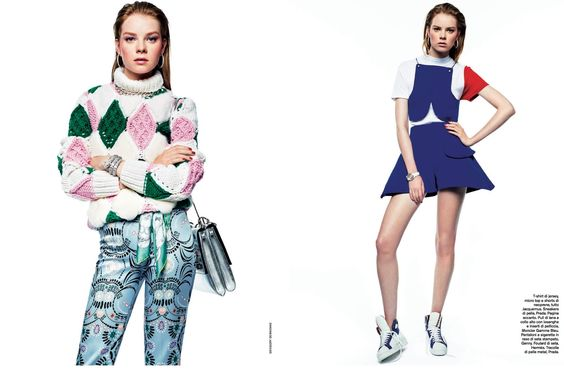 Gym Tonic: Gwen Loos By Gregory Derkenne For D La Repubblica 13th September 2014