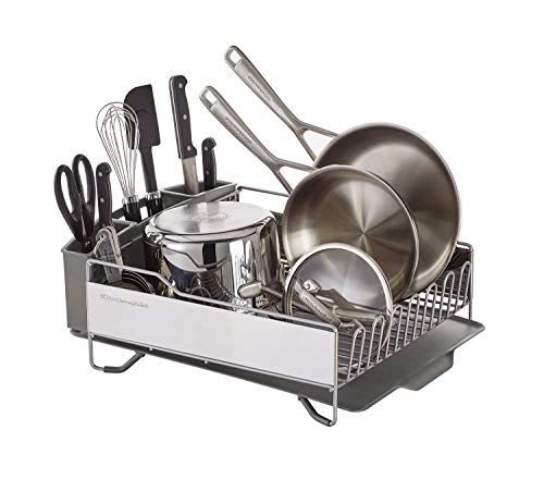 Kitchenaid Full Size Dish Rack Light Grey Now 46 04 Was 62 99