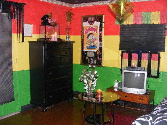 Rasta room dream home pinterest love love love and love for Room decor jamaica