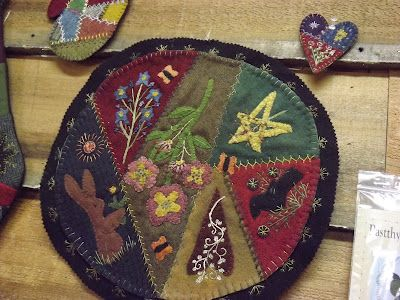 The Pastthyme Blog: crazy quilting